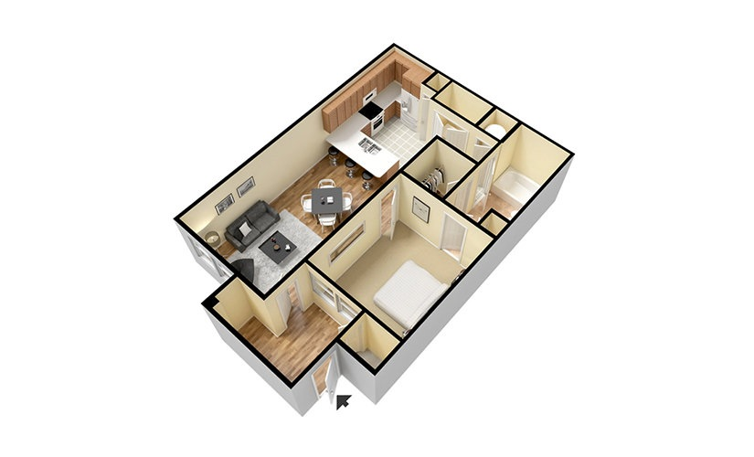 48 48 Bedroom Apartment Homes Available For Rent At Artisan At Adorable How Much Is Rent For A 2 Bedroom Apartment Model Plans