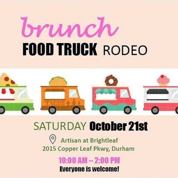Today is the day!! Come out to our Brunch Food Truck Rodeo!! We know you love brunch so come try some delicious food trucks like Belgian Waffle Crafters, Toucan's Açaí, Tenco Coffee, and more from 10:00-2:00pm.