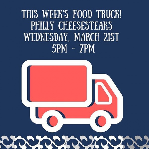 Dear residents and friends,  Don't forget we have Philly Cheesesteak tomorrow Wednesday March 21st 2018 from 5pm to 7pm weather permitting.  Please show your support as we want to continue having a food truck every week!